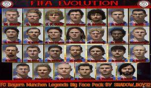 فیس پک کلاسیک FC Bayern München برای FIFA 20