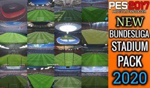 استادیوم پک سرور Bundesliga 2020 برای PES 2017 توسط TR