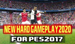 گیم پلی جدید Hard 2020 برای PES 2017 توسط Dzplaylayz