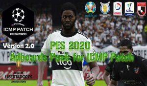 دانلود پک ادبورد برای PES 2020 مخصوص پچ ICMP