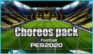 مود پک Choreos برای PES 2020 مخصوص استادیوم سرور
