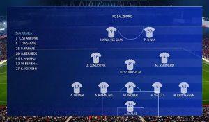 اسکوربورد سرور UEFA Champions League برای PES 2020