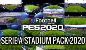 استادیوم پک Serie A برای PES 2020 توسط TR