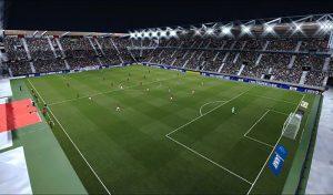 چمن و استادیوم Roazhon Park Frostbite برای PES 2020