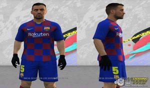 فیس Sergio Busquets برای FIFA 14 توسط Alexian