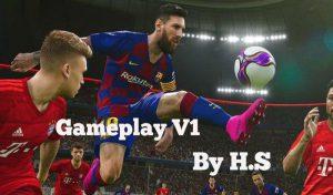 دانلود گیم پلی جدید V1 برای PES 2017 توسط H.S