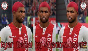فیس پک Ryan Babel برای FIFA 20 توسط SHADOW_BOY32