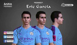 دانلود فیس Eric Garcica برای PES 2017 فصل 2020