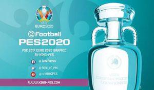 دانلود ماد گرافیک Euro 2020 برای PES 2017 توسط Team