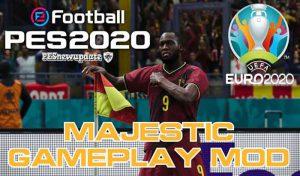 گیم پلی Majestic V5 برای PES 2020 برای Data Pack 7
