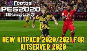 دانلود کیت پک 2021 برای PES 2020 – ورژن 1.0