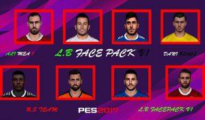 دانلود فیس پک ایرانی V1 برای PES 2017 توسط R.S