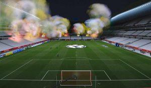 دانلود ماد بمب دود و بنر تماشاگران برای PES 2020