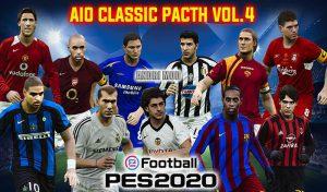 دانلود پچ Classic Patch Vol.4 برای PES 2020 – هماهنگ دیتاپک 8