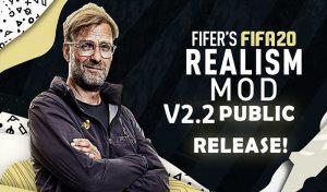 دانلود پچ FIFER's Mod 2.2 برای FIFA 20 – نسخه رایگان