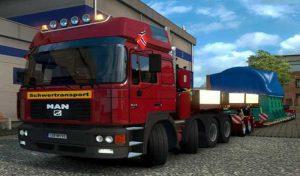 کامیون MAN F2000 1.38 V2.0 برای یورو تراک 2
