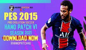 دانلود پچ Hano Patch V1 برای PES 2015 – آپدیت فصل 2021