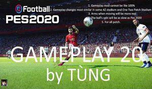 نسخه جدید گیم پلی پچ PES 2020 برای PES 2017 توسط Tung