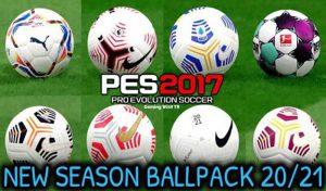 دانلود پک توپ 2021 برای PES 2017 توسط Vito colangelo