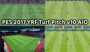 ماد چمن YRF V11 شبیه PES 2020 برای PES 2017