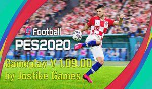 گیم پلی پچ 1.09.00 v برای PES 2020 توسط  Jostike Games
