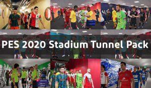 دانلود پک تونل استادیوم V1.0 برای PES 2020 توسط FuNZoTiK