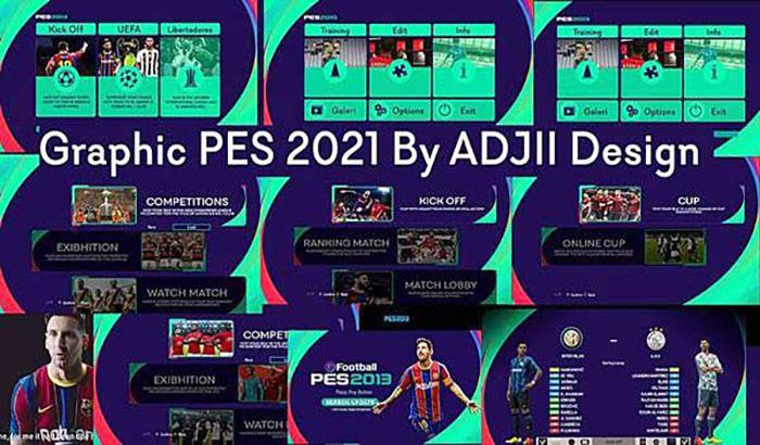 منو PES 2021 برای PES 2013