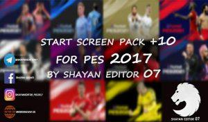 استارت اسکرین پک 2021 برای PES 2017 توسط SHAYAN EDITOR07
