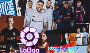 دانلود کیت پک La Liga season 20/21 برای PES 2017