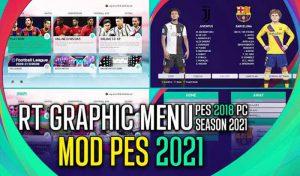دانلود مود گرافیکی PES 2021 برای PES 2018
