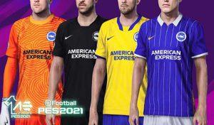 دانلود کیت پک 2021 تیم برایتون برای PES 2020