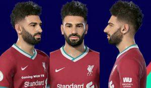 دانلود فیس Mohamed Salah برای PES 2019