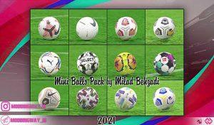 دانلود پک توپ فصل 2020/2021 برای PES 2017 توسط Milad Behzadi