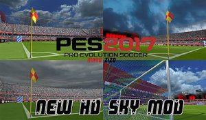 دانلود ماد آسمان HD Sky Mod برای PES 2017 – سال 2020