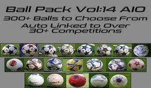 دانلود پک توپ Ball Server Pack V14 برای PES 2020