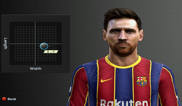 دانلود فیس Lionel Messi