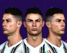 دانلود فیس Cristiano Ronaldo برای PES 2017