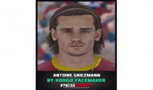 دانلود فیس Antoine Griezmann برای PES 2017
