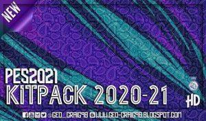 دانلود کیت پک جدید فصل 2021 برای PES 2021