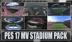 دانلود استادیوم پک MV V1 برای PES 2017