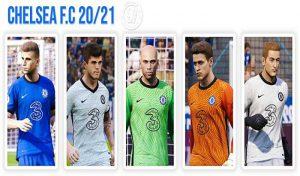 دانلود کیت پک 2021 تیم چلسی برای PES 2020