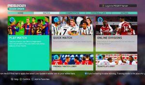 دانلود مود RT Graphic Menu 2021 برای PES 2017 – نسخه جدید v2