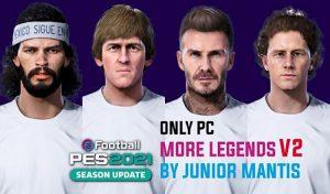 دانلود پچ More Legends V1 برای PES 2021