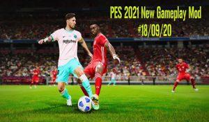 دانلود گیم پلی جدید برای PES 2021