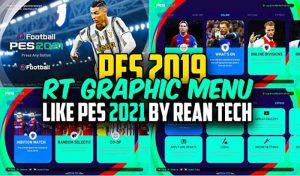 دانلود منو گرافیکی PES 2021 برای PES 2019