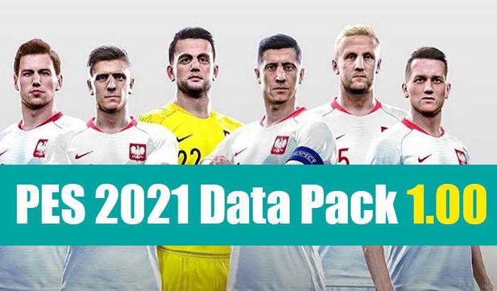 دیتاپک 1.00 برای efootball PES 2021