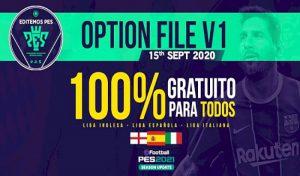 دانلود آپشن فایل EditemosPES V1 برای PES 2021 کنسول PS4