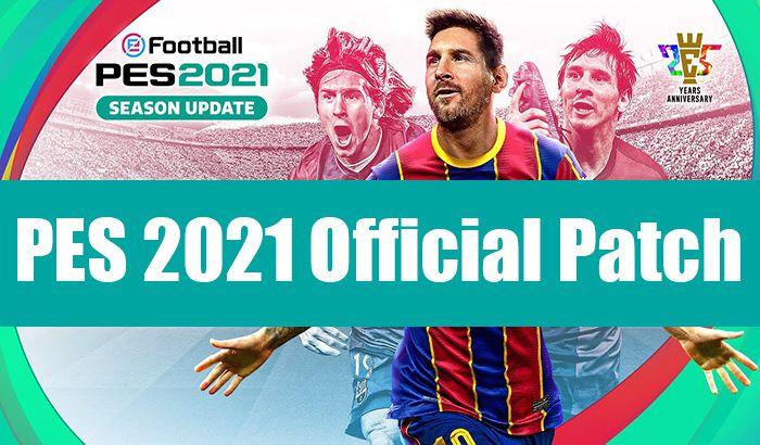 گیم پلی پچ KONAMI برای efootball PES 2021