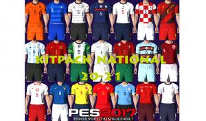 دانلود کیت پک National Teams 2021 v1 برای PES 2017