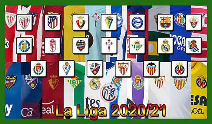 دانلود کیت پک La Liga Season 2020-2021